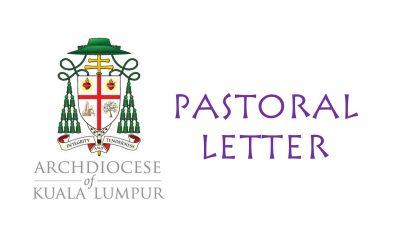 Pastoral Letter – 9 July 2021