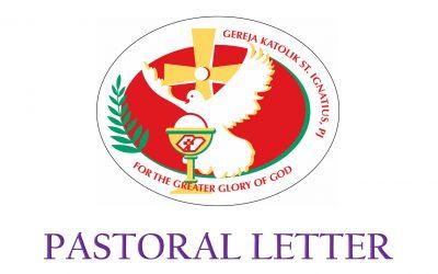 SIC Pastoral Letter – 23 July 2021