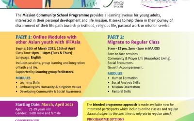 Mission Community School Programme