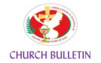 Latest Church Bulletin